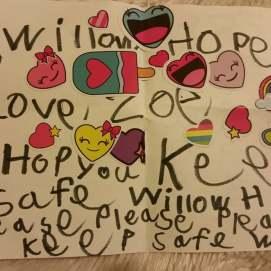 Zoe letter